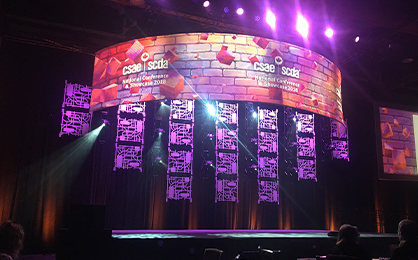 stage design at CSAE National conference