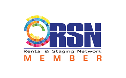 ORSN Rental and staging network member logo