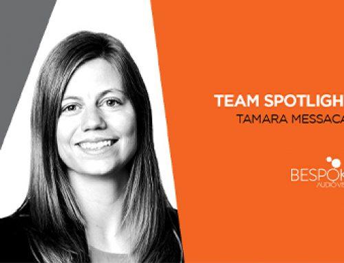 Team Spotlight: Tamara Messacar
