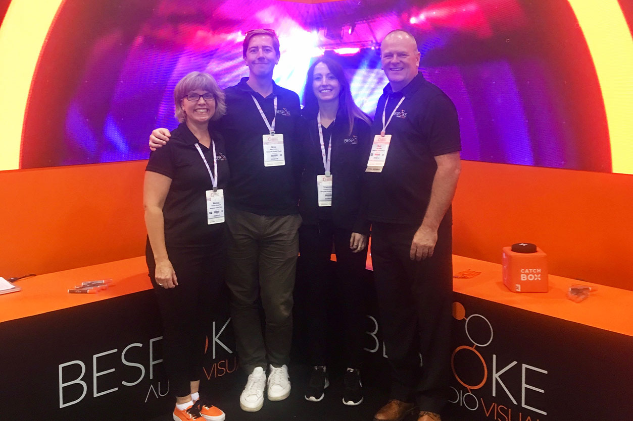 Bespoke team at Canadian Meetings and Events Expo