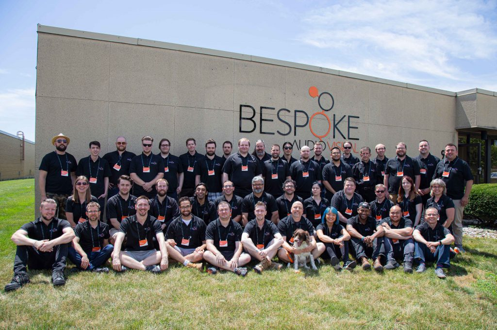 Bespoke Audio Visual team photo