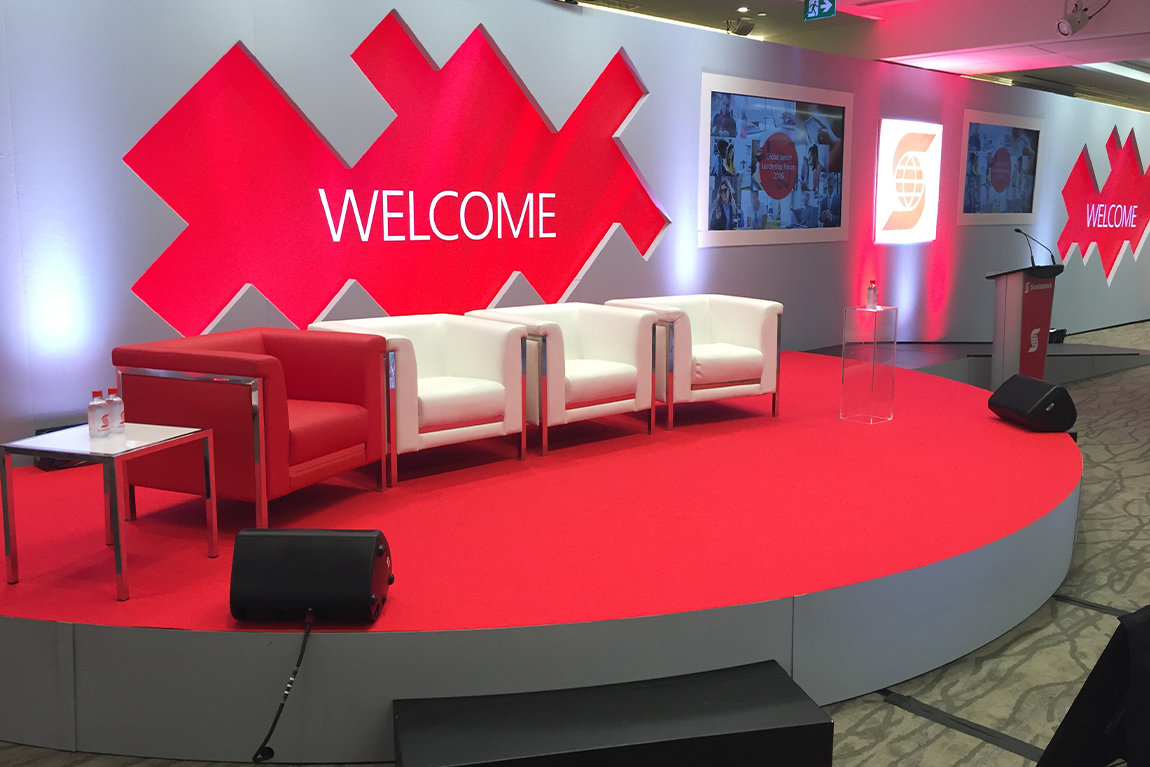 Scotiabank GSLF stage design