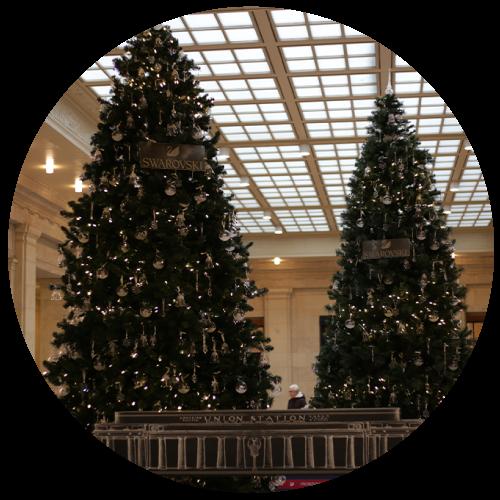 Swarovski Holiday Trees