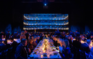 Canadian Opera Company dinner gala full of attendees