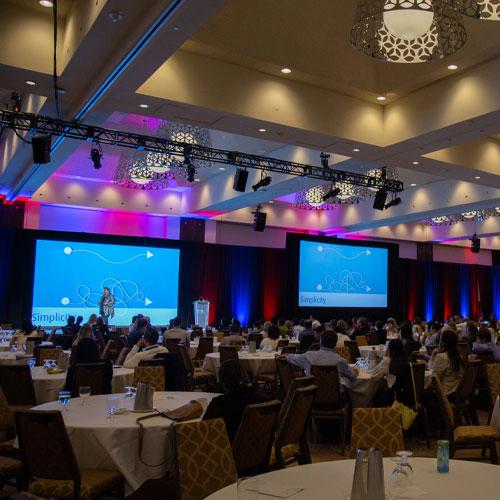 event set-up of BMO Summit 2019