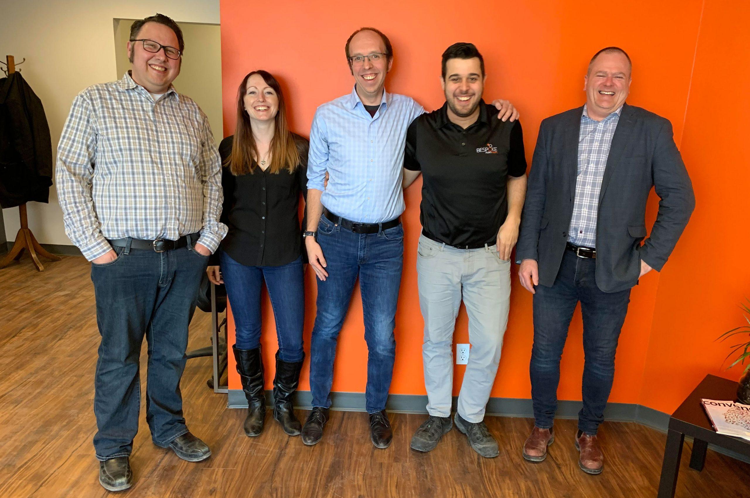 Bespoke Audio Visual Ottawa team