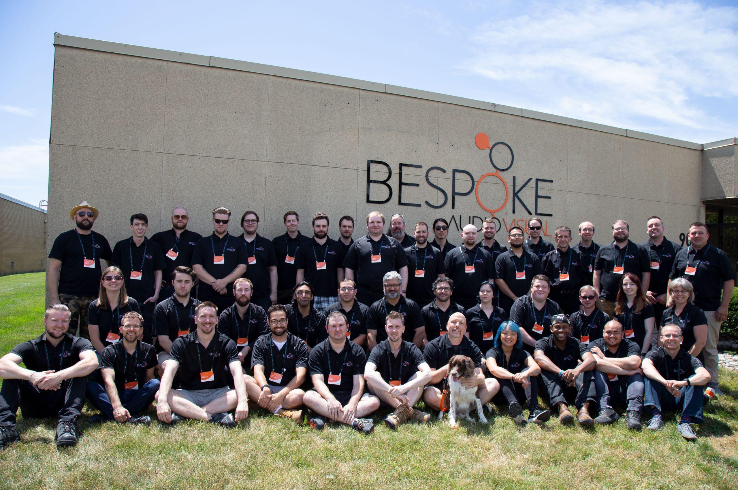 Bespoke Audio Visual Team