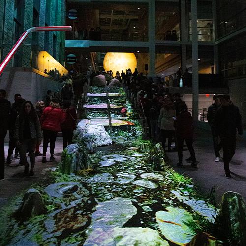 Nuit Blanche 2019 art installation