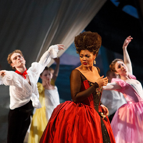 Performers at Opera Atelier 2019