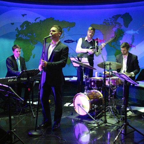 Ripley's Aquarium - jazz night performers