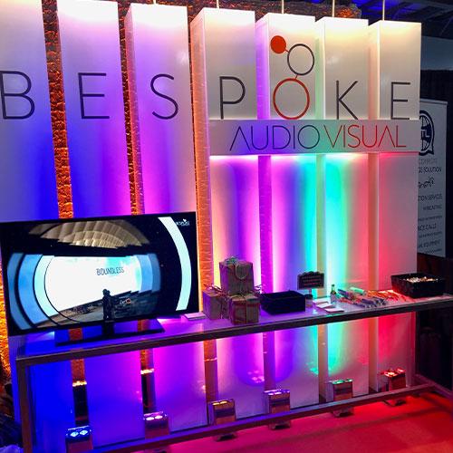 Bespoke AV booth at Tete-a-Tete-2019