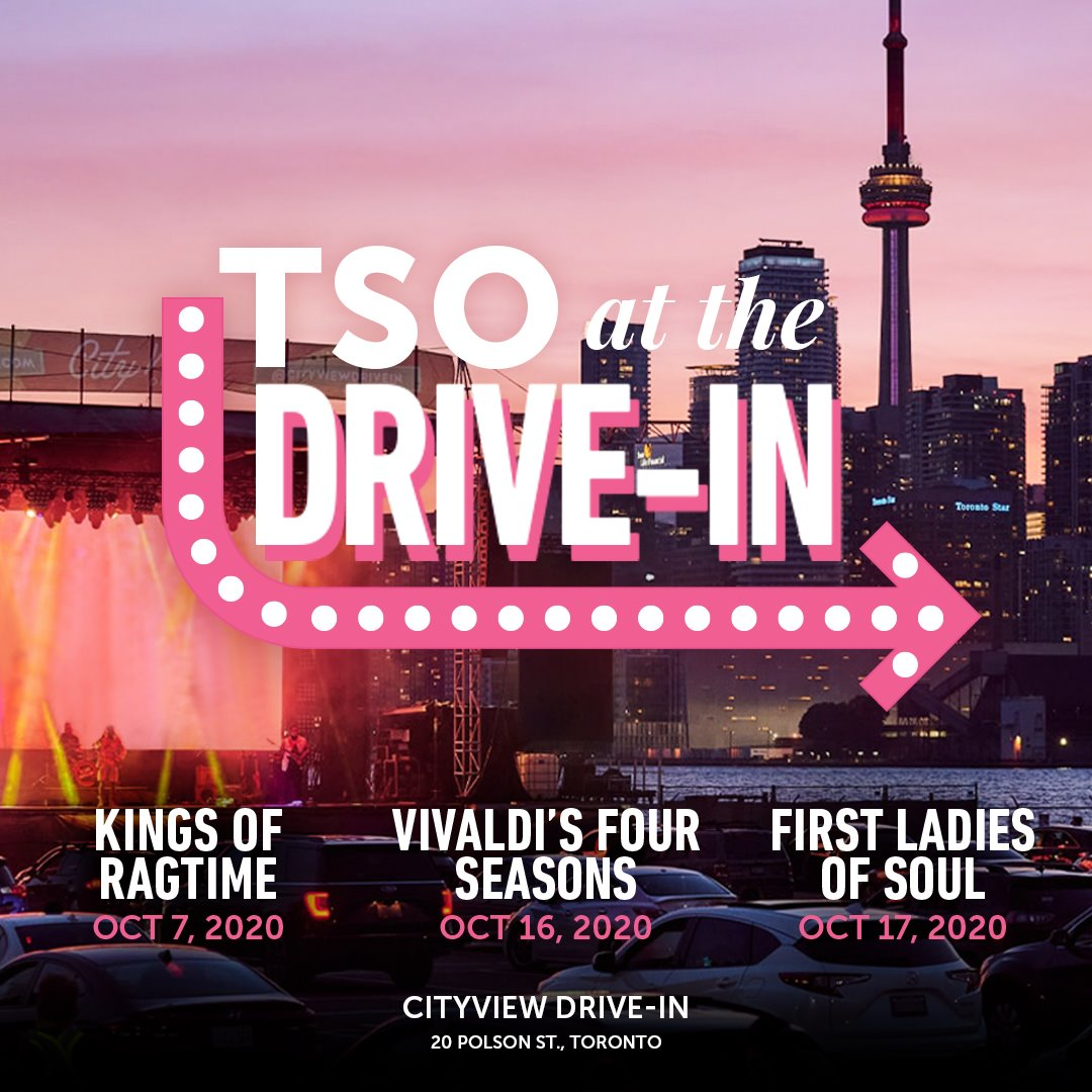 TSO at the Drive-In promotional poster
