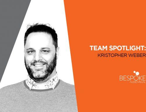 Team Spotlight: Kristopher Weber