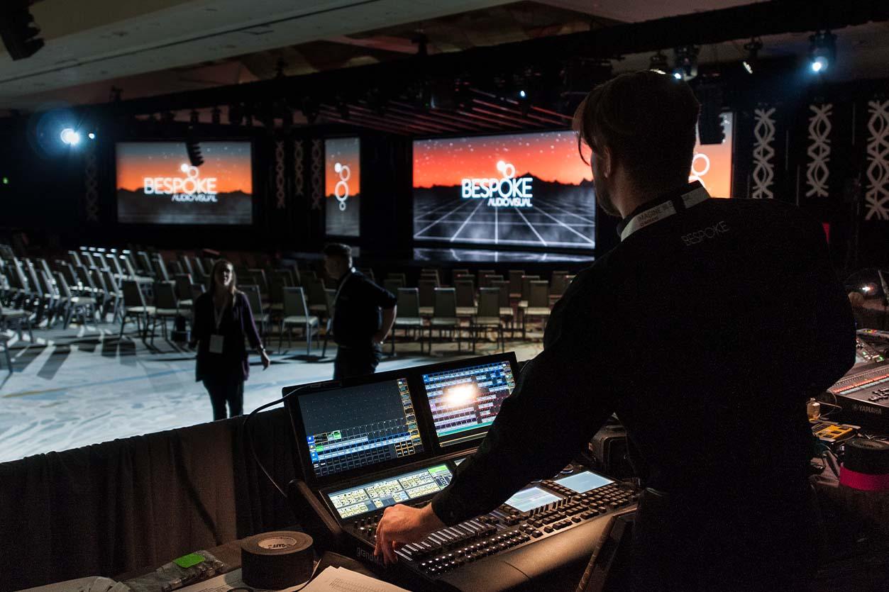 audience-free events bespoke audio visual